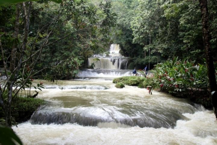YS Falls de la Jamaique