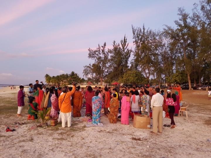 Ile Maurice : Fête hindou