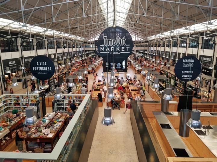 Que faire à Lisbonne : Time Out Market