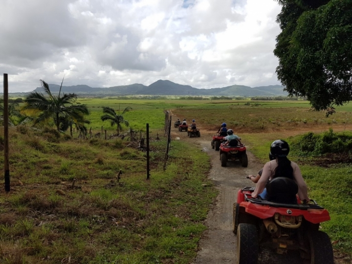 Que faire à l'île Maurice : quad Domaine de l'Etoile