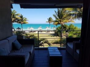 Paradise Beach : notre terrasse