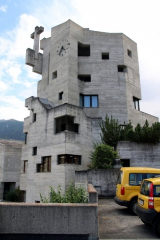 Val d'Hérens : Eglise d'Hérémence