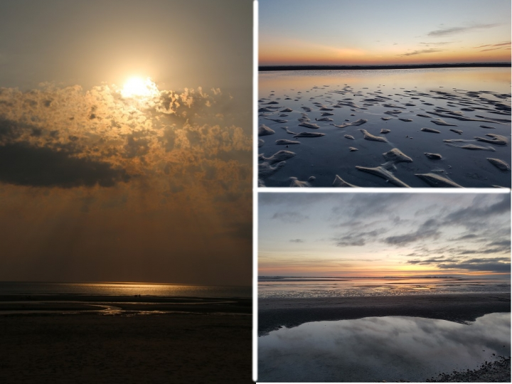 La Baie de Somme : De beaux couchers de soleil
