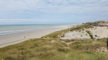 La Baie de Somme : dunes de Quebd-Plage