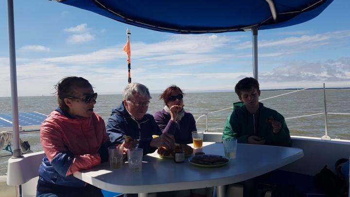 Découvrir la Baie de Somme : petit moment de convivialité