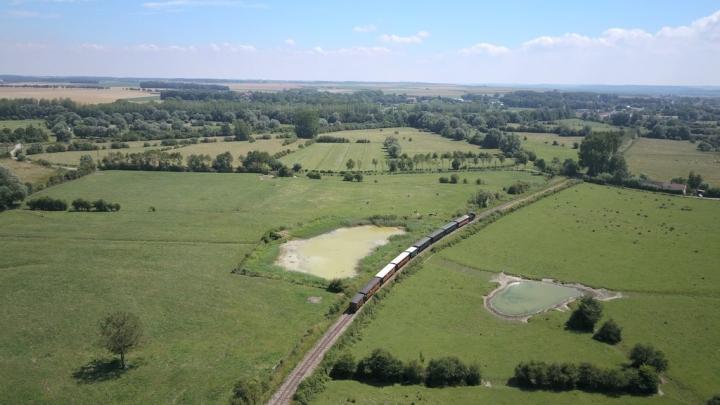 Découvrir la Baie de Somme : le train dans l'arrière pays
