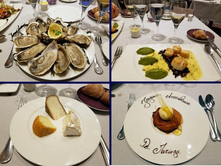 Grand Hôtel des Thermes : menu au Cap Horn