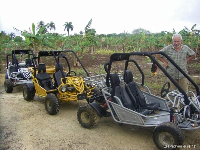 Excursion buggy République Dominicaine