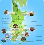 Carte du parcours réalisé