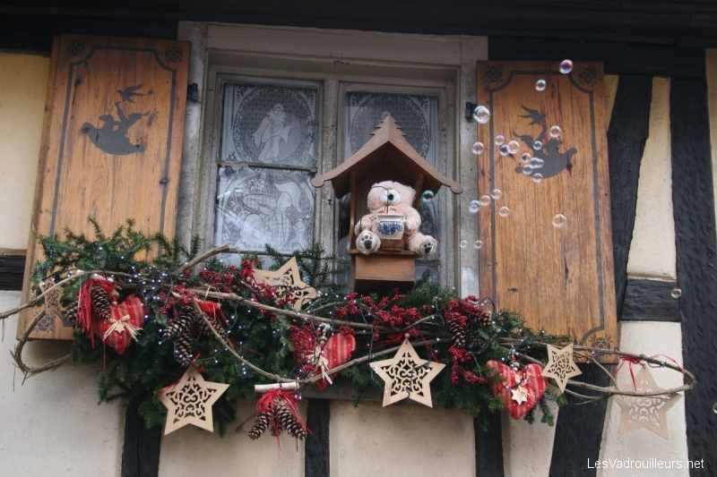 Insolite le march de no l m di val de ribeauvill en alsace for Decoration de noel en alsace