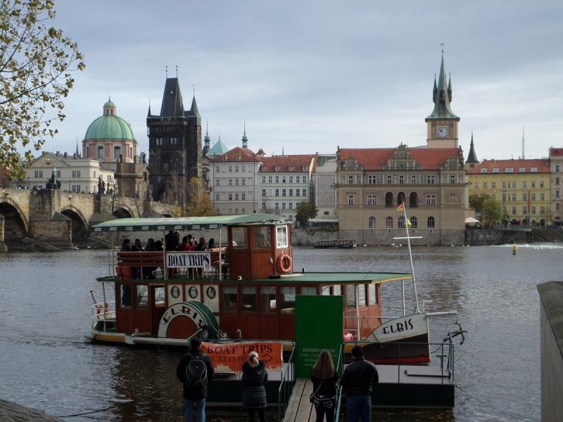 Boat Trip sur la Vltava