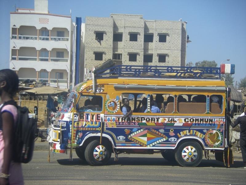 Bus à Dakar