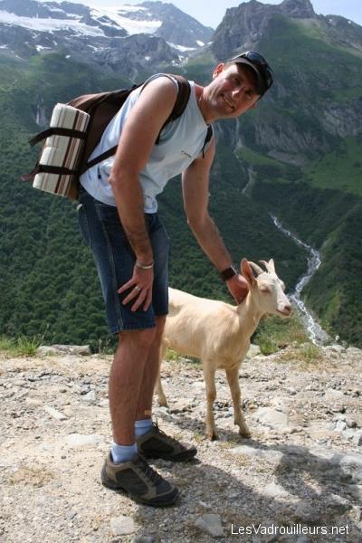 Christophe dans le Parc de la Vanoise