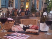 Bar à vin à Beaune en Bourgogne