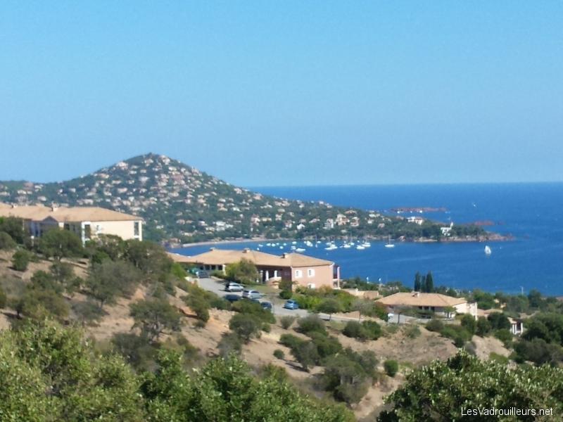 Panorama au Cap Esterel