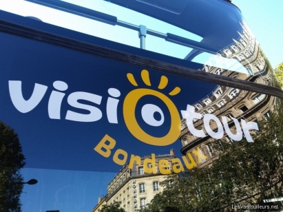 Tour de Bordeaux en bus Visiotour