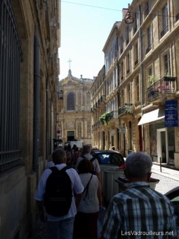 Visite pédestre commentée de Bordeaux