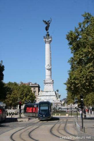 Fontaine des Girondins place des Quiconces