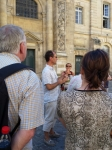 Explications sur Bordeaux par un guide