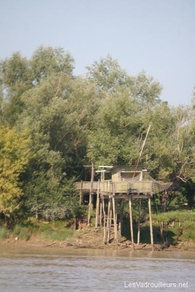 Une cabane de pêche au carrelet