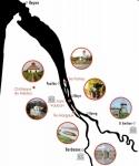 Parcours de la croisière oenologique