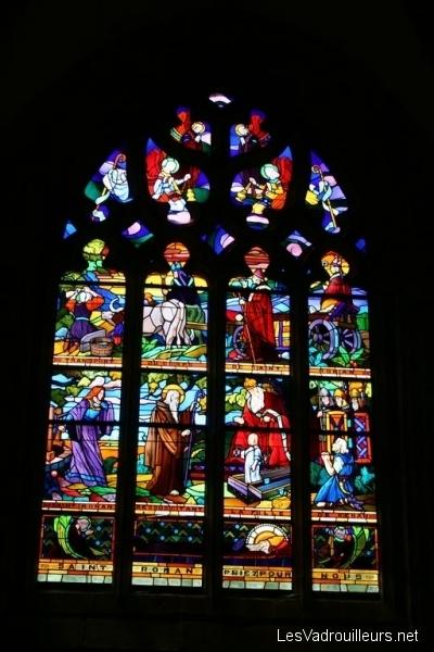Vitrail de l'église
