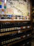 Carte des différentes bières bretonnes
