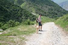 Radonnée en montagne