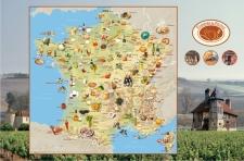 Spécialités culinaires de France (c) KelCom