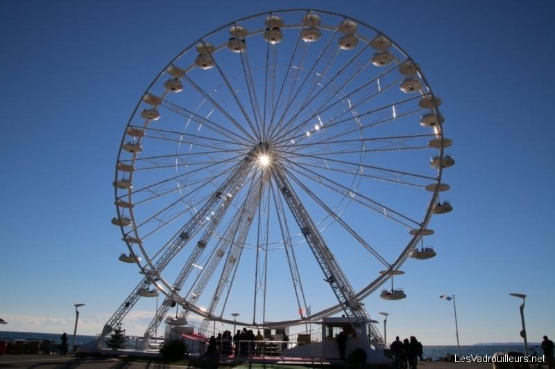 La grande roue à Saint-Raphael