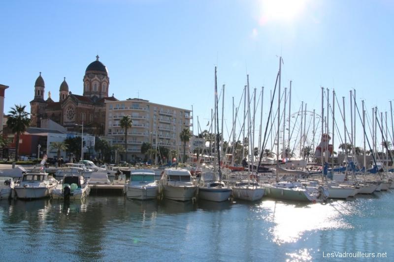 Le port de Saint-Raphael