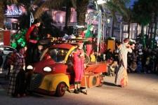 Spectacle du cirque en balade
