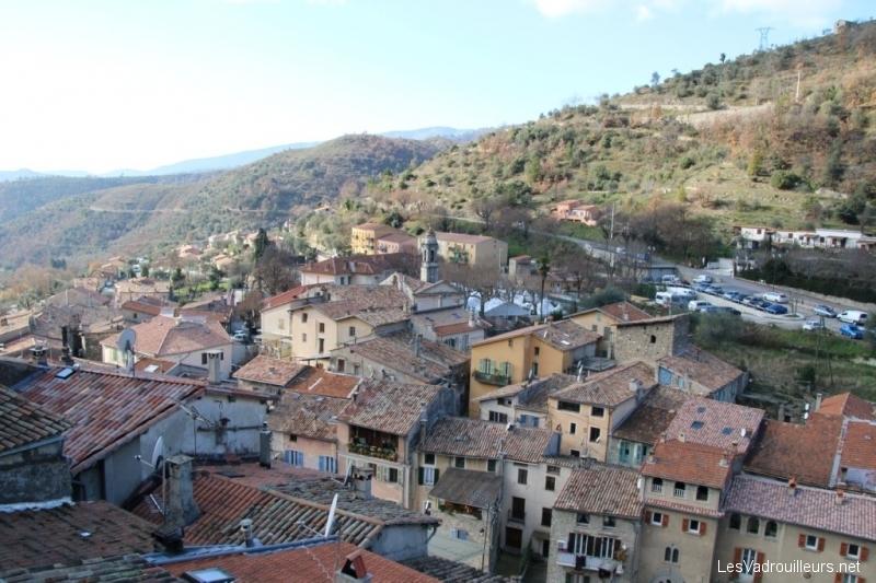 Panorama sur Lucéram