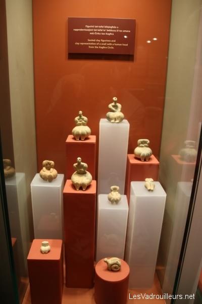 Statuettes au musée archéologique de Xaghra