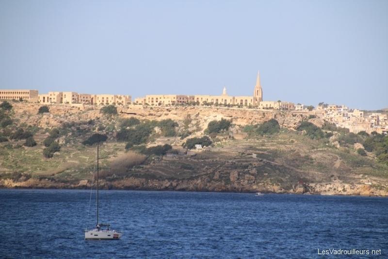 Arrivée sur l'île de Gozo
