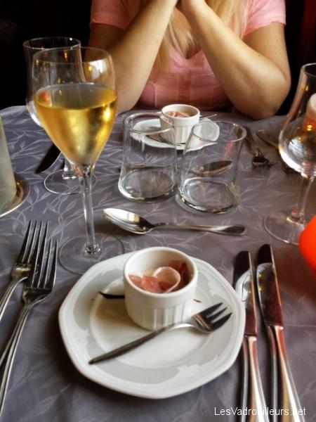 Mise en bouche repas gastronomique