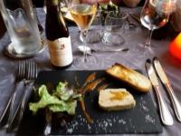 Foie gras - repas gastronomique