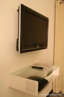 TV et console Playstation