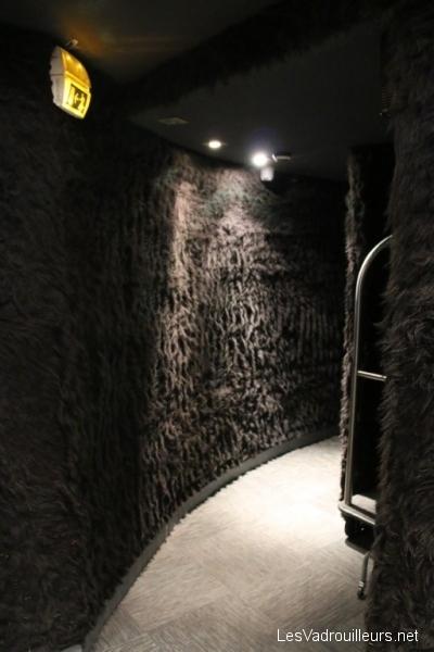 Couloir du rez-de-chaussée