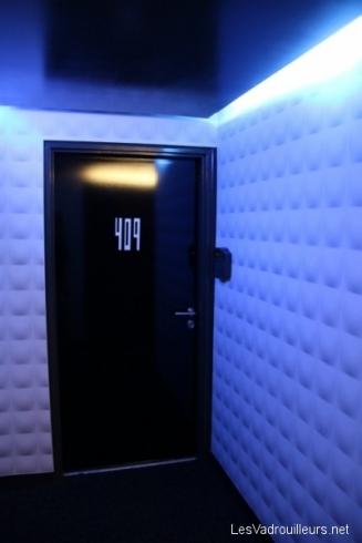 Porte de notre chambre