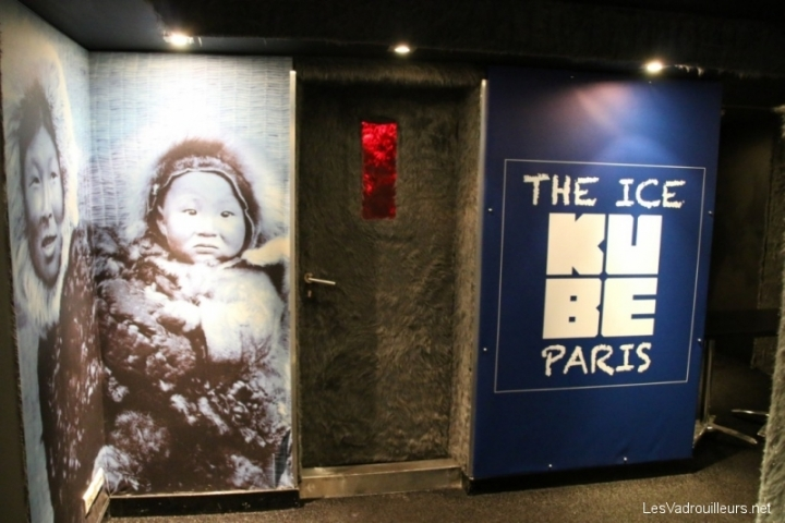 Entrée du Ice Kube Bar