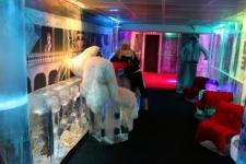 Intérieur du Ice Kube Bar