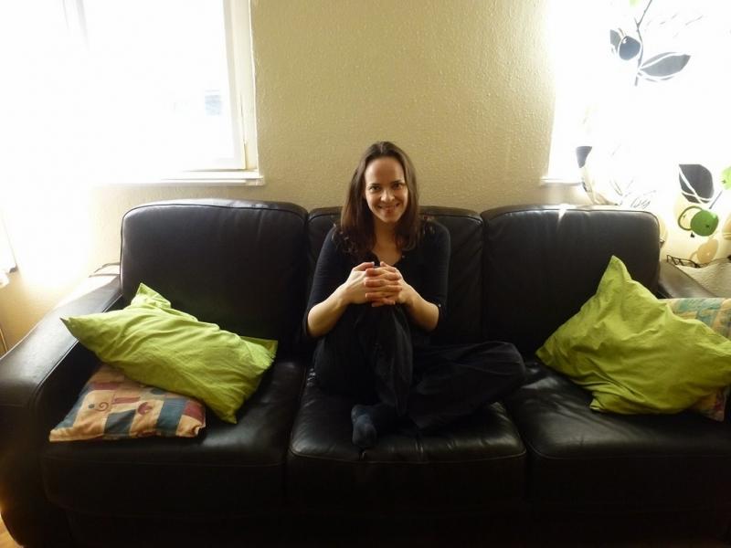 Le canapé que prête Haydée