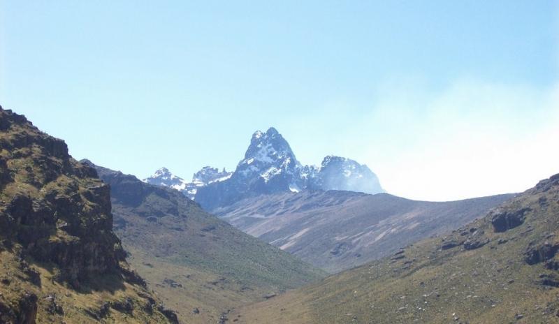 Ascension du Mont Kenya