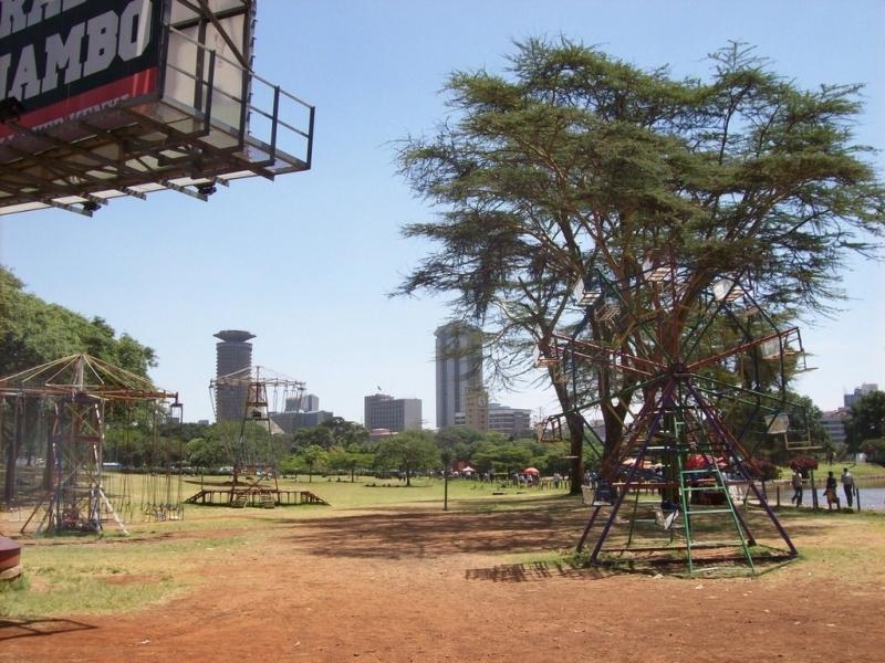 Jardin public Nairobi