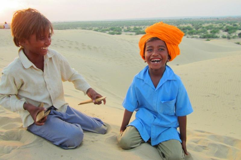 Camille en Inde