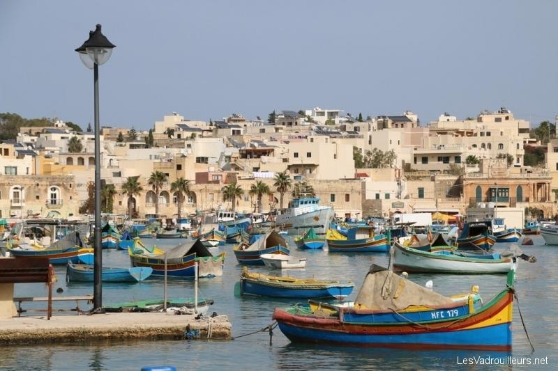 Port de pêche à Marsaxlokk