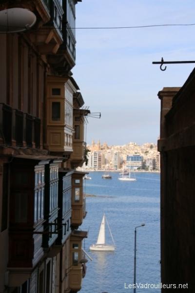 Maisons avec vue sur le Grand Harbour