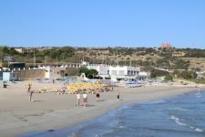 Plage de sable à Mellieha Bay