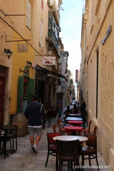 Petite ruelle piétonnière